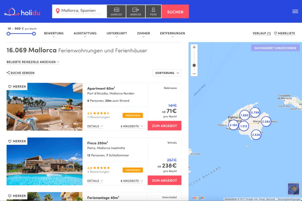 Holidu: Die Suchmaschine für Ferienhäuser launcht erste Instant App 13
